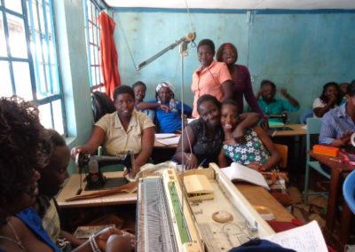 Vakopleidingen voor straatkinderen in Kenia