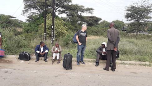 Paul's bezoek aan Oost-Afrika