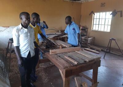 Gereedschappen voor beroepsopleidingen in Lambwe – Homa Bay – Kenia