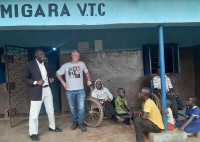 Beroepsopleidingen voor jongeren met een beperking in Migara – Tanzania