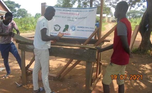 CUWEDE beroepsopleidingen voor werkloze jongeren in Nebbi – Oeganda